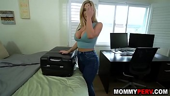 Bokep Milf mom with big tits and ass fucks stepson