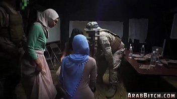 Young arab sex and mom ass Sneaking in the Base!