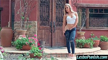 Sex Toys Punish Action Between Horny Lesbian Girls (Nicole Aniston & Anikka Albrite) vid-26