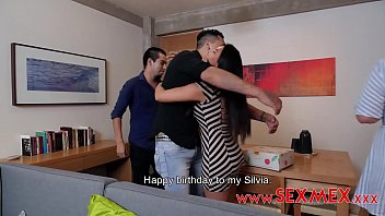 AFTER A FAMILY CELEBRATION BECAUSE SIVIA SANTEZ' BIRTHDAY, SILVIA SANTEZ HUSBAND WANTS TO TAKE HER TO A SWINGER BAR IN ORDER TO FIND MEN TO SATISFY THEIR SEXUAL DESIRES, HOWEVER CELEBRATION AT HOME WILL LAST LONGER THAN EXPECTED