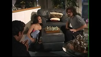 European girl Juliana and her asian GF Lyla Lei fucks in threesome