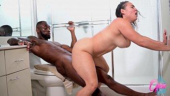 Shower Sex Scene BBC vs Big Booty Latina