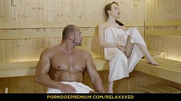 Bokep RELAXXXED - Angelic beauty passionate penetrations in sauna fantasy fuck