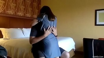 In hotel with x-girlfriend