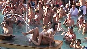 Bokep Hot Body Contest at Pool Party Key West
