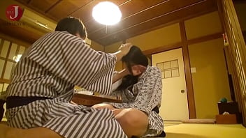 Slender Japanese girl with long hair pleasures a lucky man with her wet tight pussy [HMHI-229]