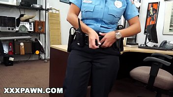 XXXPAWN - Latina Security Guard With Big Ass Tries To Pawn Her Gun For Cash