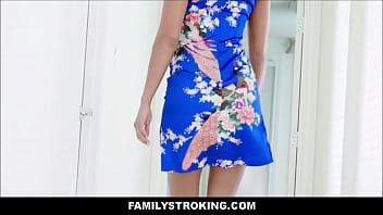 Cute Petite Asian MILF Stepmom Christy Love Is Her Stepsons First Fuck Set Up By Dad