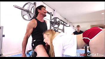 Bokep Alexa grace with trainer during workout