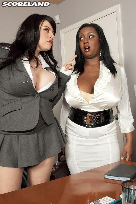 Boob Science: Big Tit Boss Lady