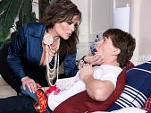 Ciara Ryder: Super MILF Catches Her Son's Friend Beating Off