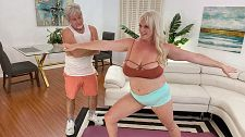 Workout With Cameron Skye at XLGirls.com