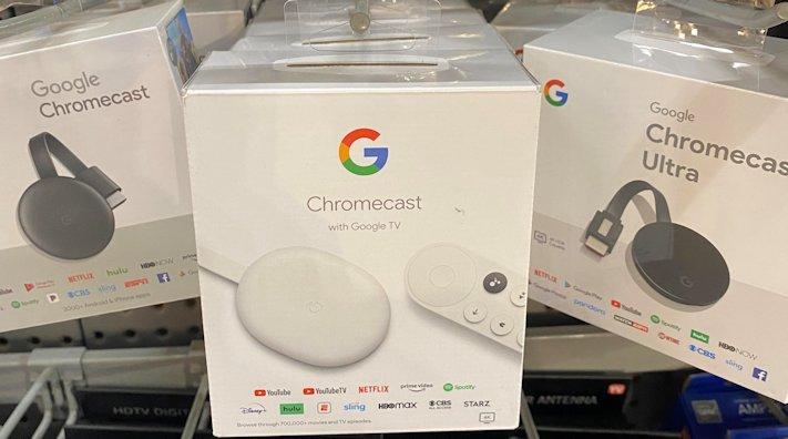 Butik i USA har redan börjat sälja nya Chromecast