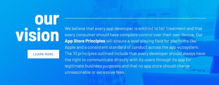 """Coalition for App Fairness vill minska """"app-skatten"""" från Apple och Google"""