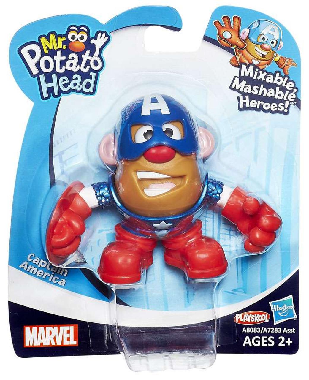Marvel Playskool Mixable Mashable Heroes Captain America