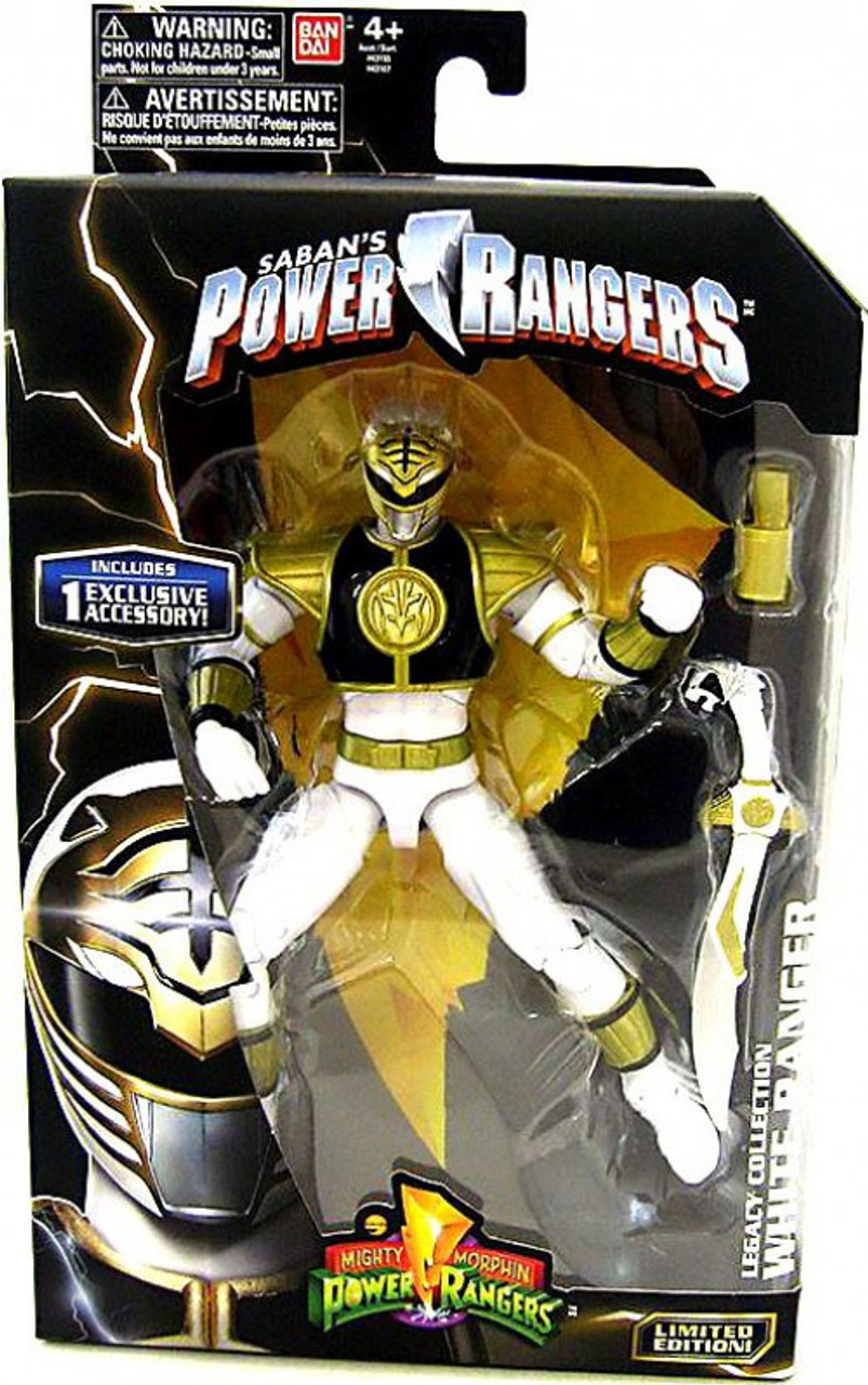 Power Rangers Mighty Morphin Legacy Build Megazord White