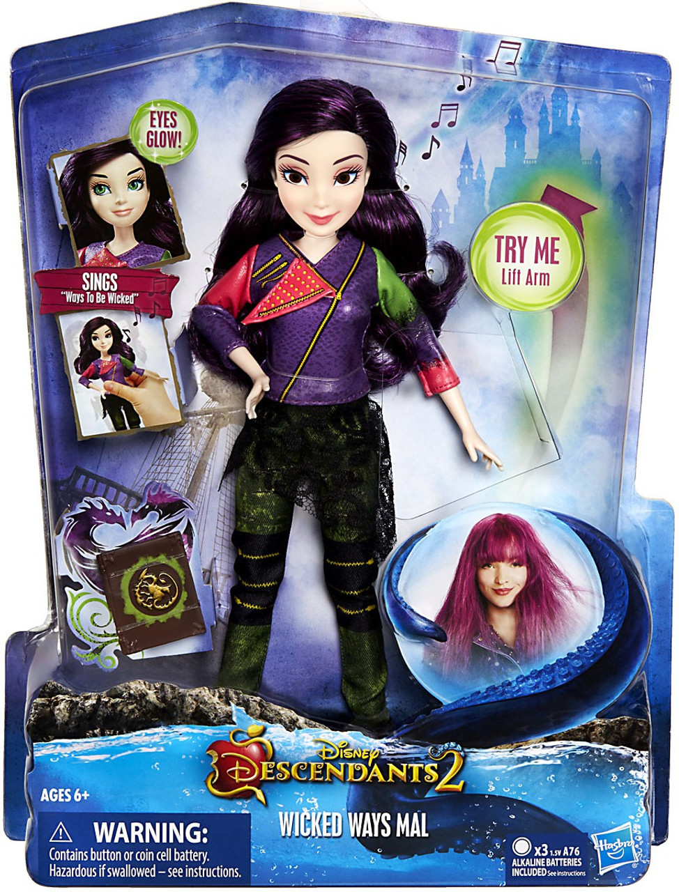 Zevon Descendants Wicked World Doll Toy