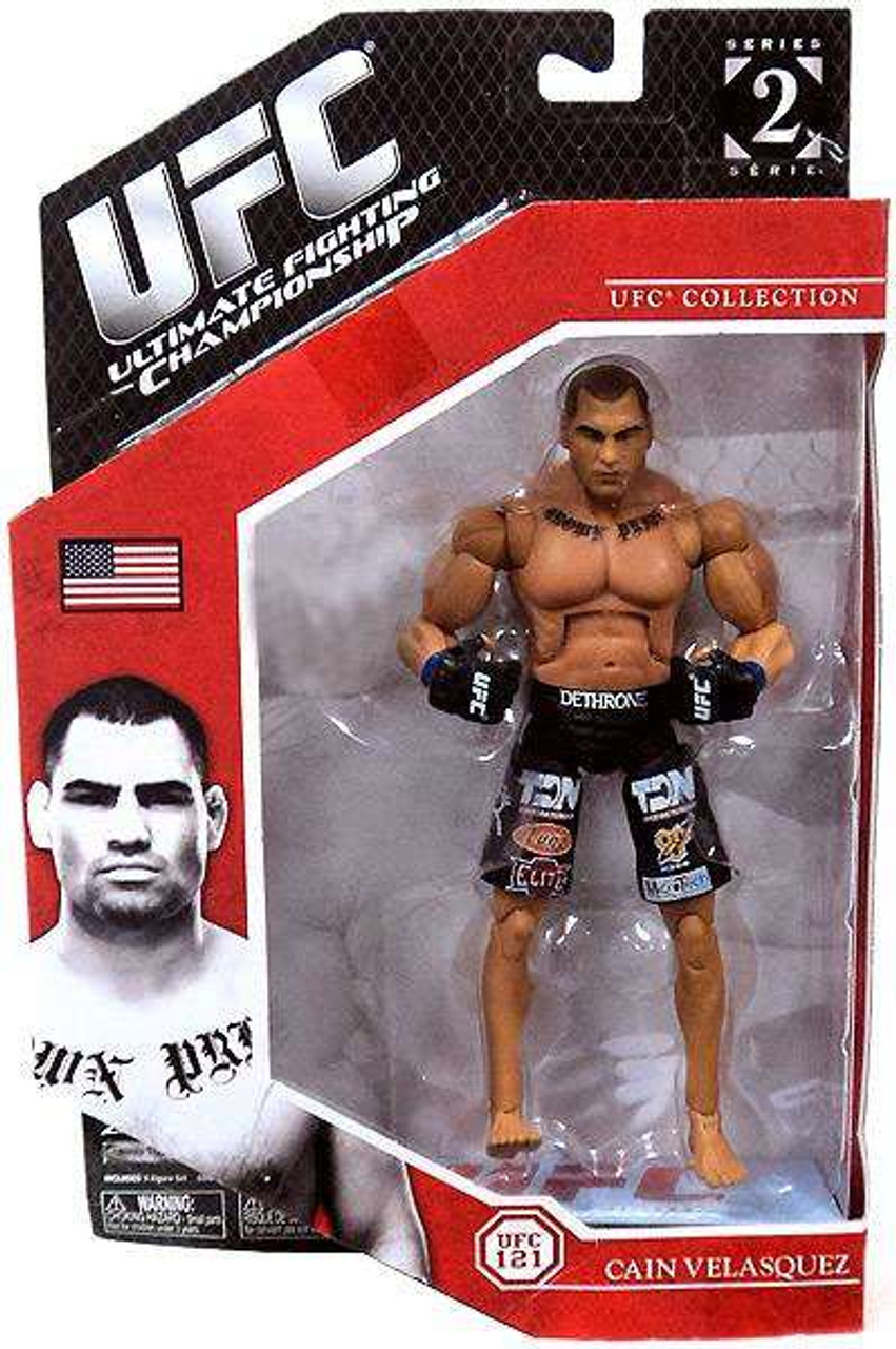 Ufc Collection Exclusives Series 2 Cain Velasquez Exclusive Action Figure Jakks Pacific - Toywiz
