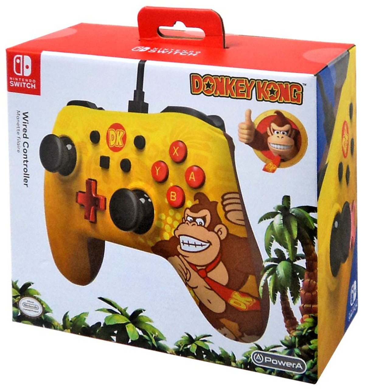 Nintendo Switch Donkey Kong Video Game Controller Power A