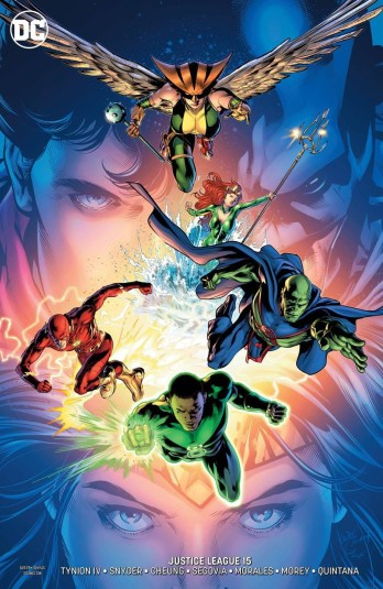 justice league #15 will conrad variant cover