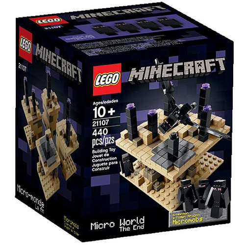 Lego Minecraft Micro World The End Set 21107 Toywiz