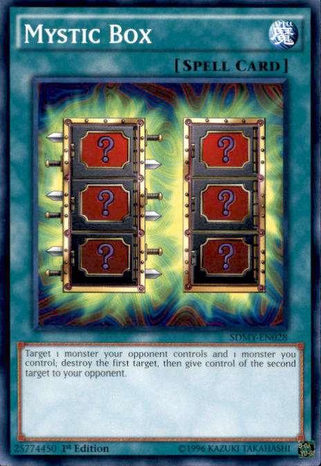 YuGiOh Yugi Muto Structure Deck Single Card Common Mystic