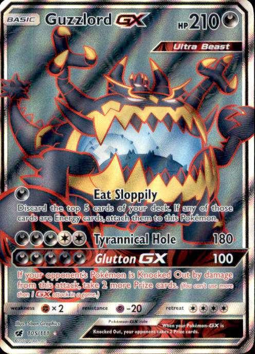 Pokemon Sun Moon Crimson Invasion Single Card Ultra Rare