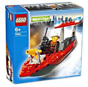 Lego World City Firefighter Set 7043 Damaged Package Toywiz