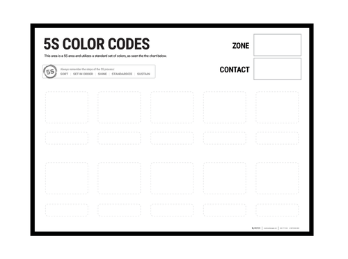 color code wall chart also creative safety supply rh creativesafetysupply