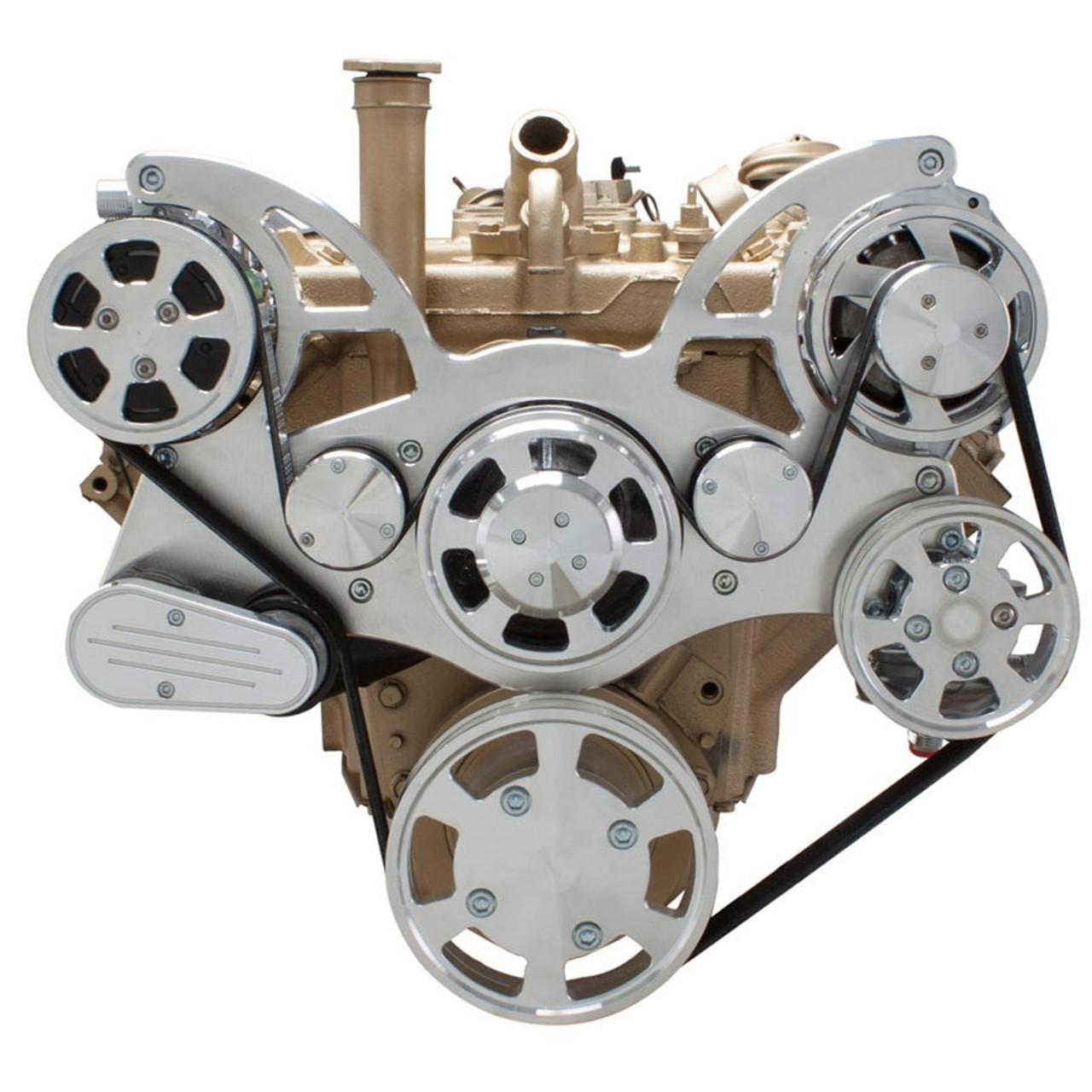 hight resolution of  97 c230 belt diagram serpentine conversion kit for oldsmobile 350