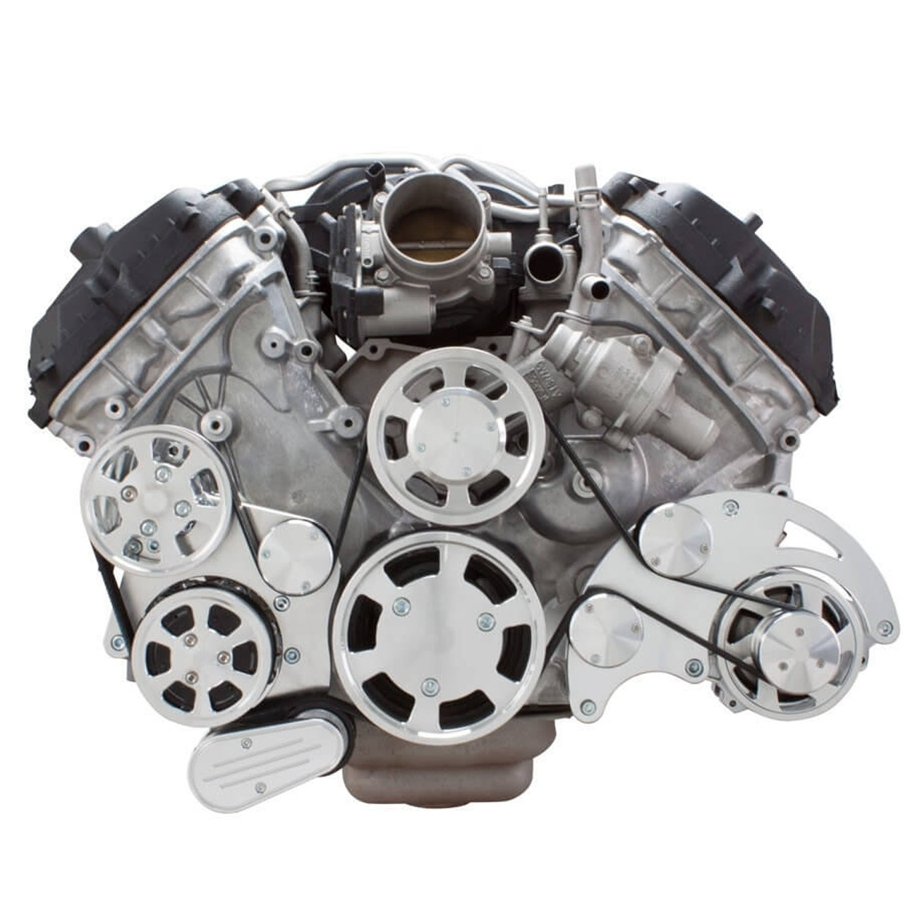 hight resolution of  serpentine system for ford coyote 5 0 ac power steering alternator