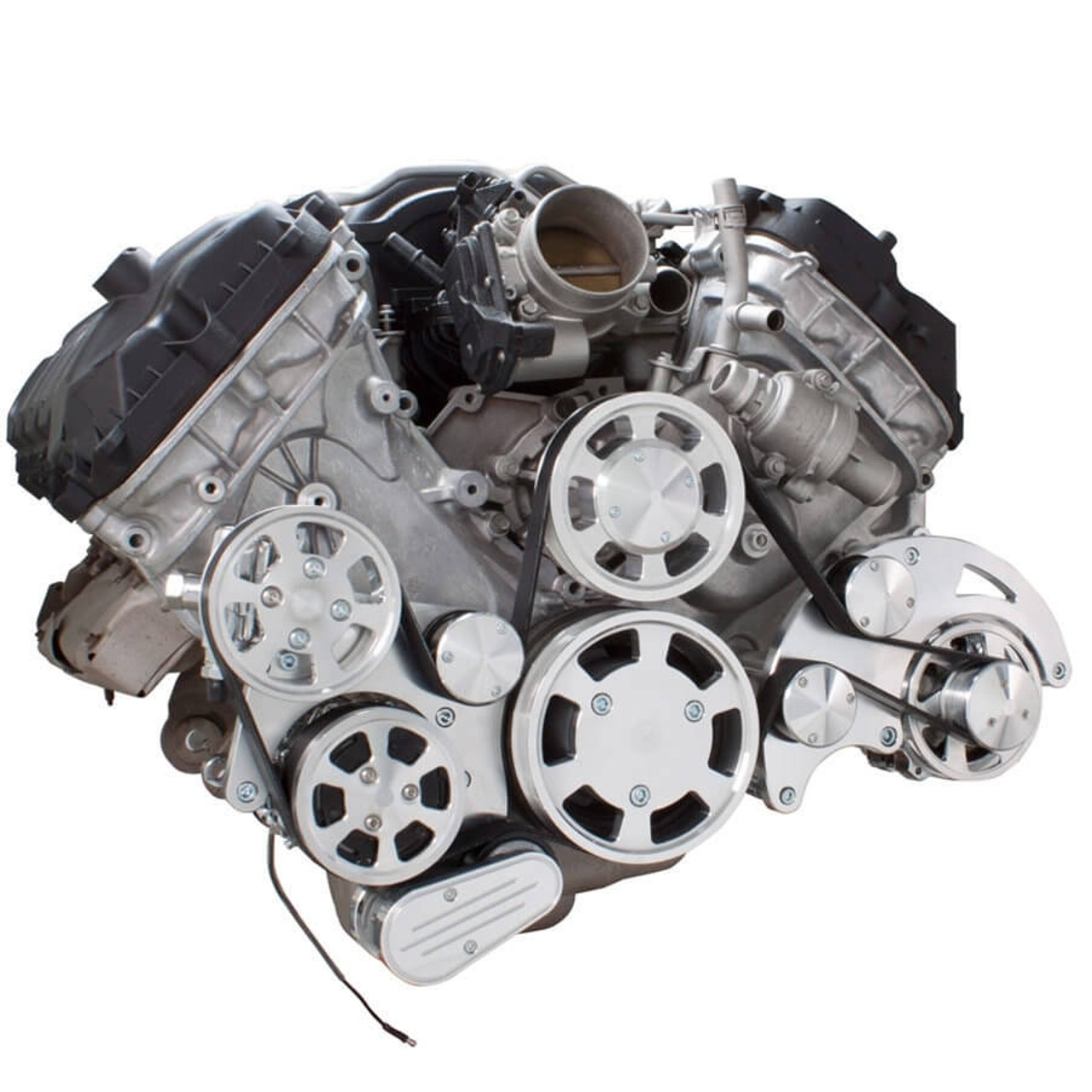 serpentine system for ford coyote 5 0 ac power steering alternator [ 900 x 900 Pixel ]