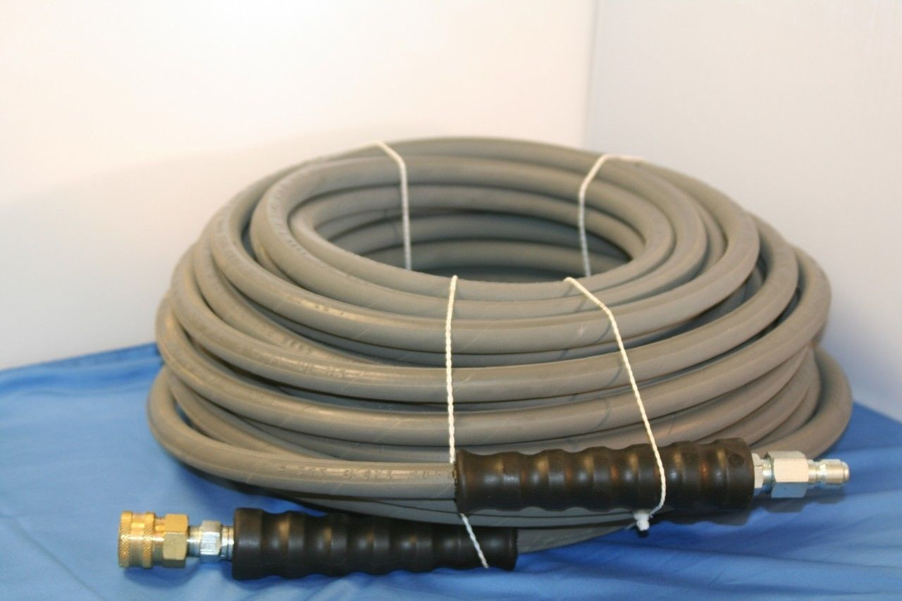 100' Gray Marking Pressure Washer Hose 3 8