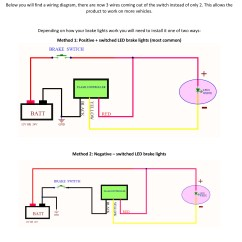4 Pin Led Flasher Relay Wiring Diagram Poulan 2075 Chainsaw Fuel Line How Do I Install A 3rd Brake Light Gtr Lighting