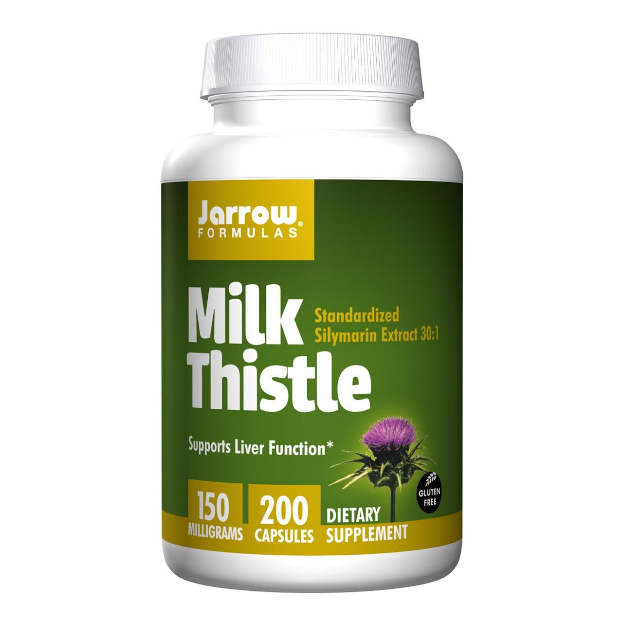 Jarrow Formulas Milk Thistle - 苔薊草 | LOTUSmart (HK) - 香港樂濤