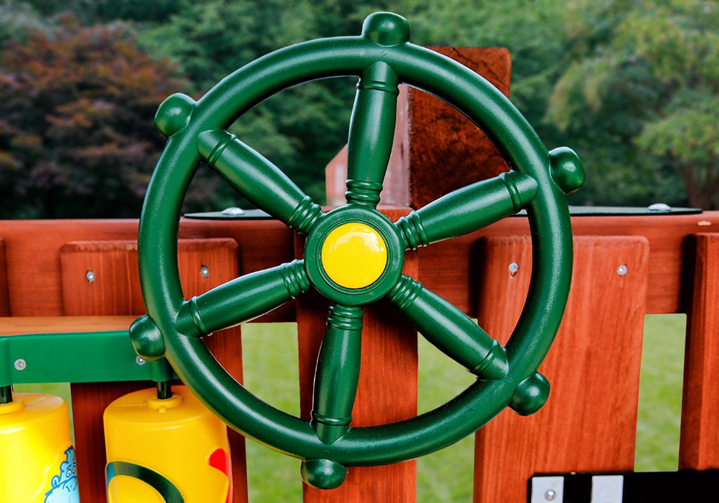 Ships Wheel and Other Swing Set Accessories on Sale at GorillaPlaysetscom
