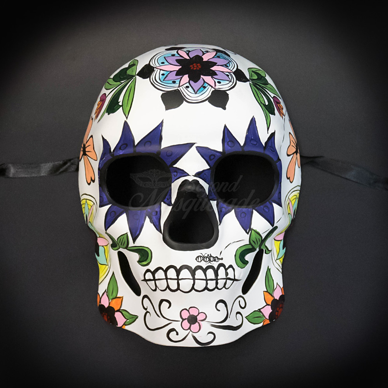 Day of the Dead Masks  Dia de los Muertos Masquerade Mask M38242  BeyondMasqueradecom