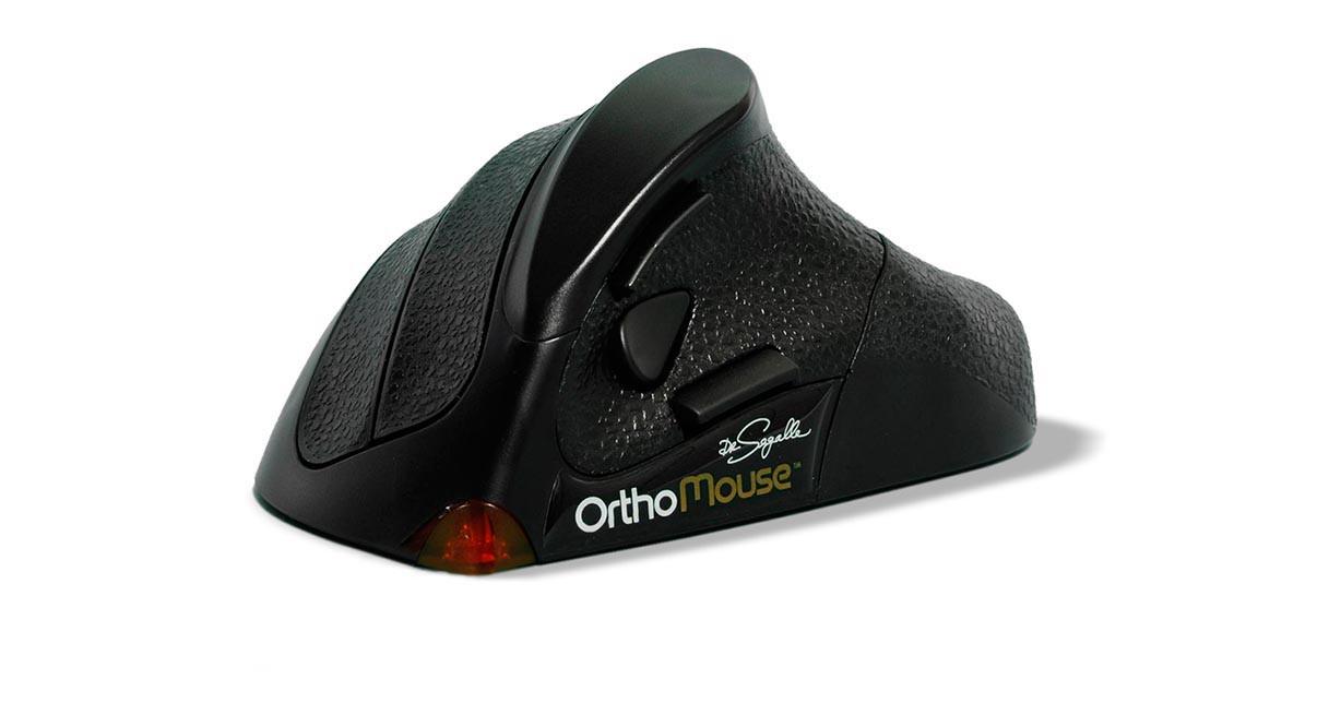 Orthovia OrthoMouse Wireless Ergonomic Mouse at Human Solution