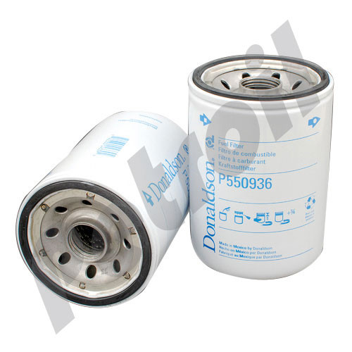 hight resolution of  case of 12 p550936 donaldson fuel filter spin on