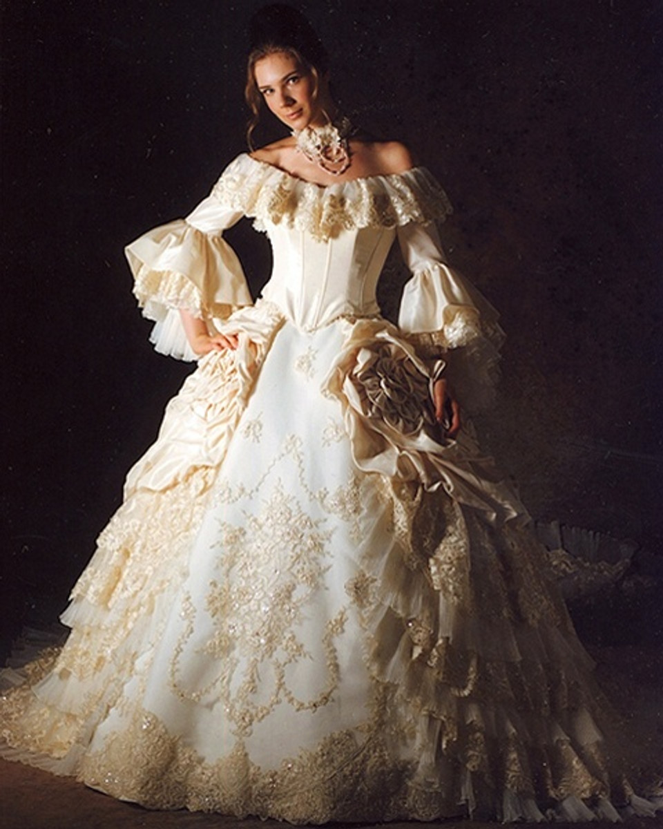 Marie Antoinette Wedding Dress Bridal Gown