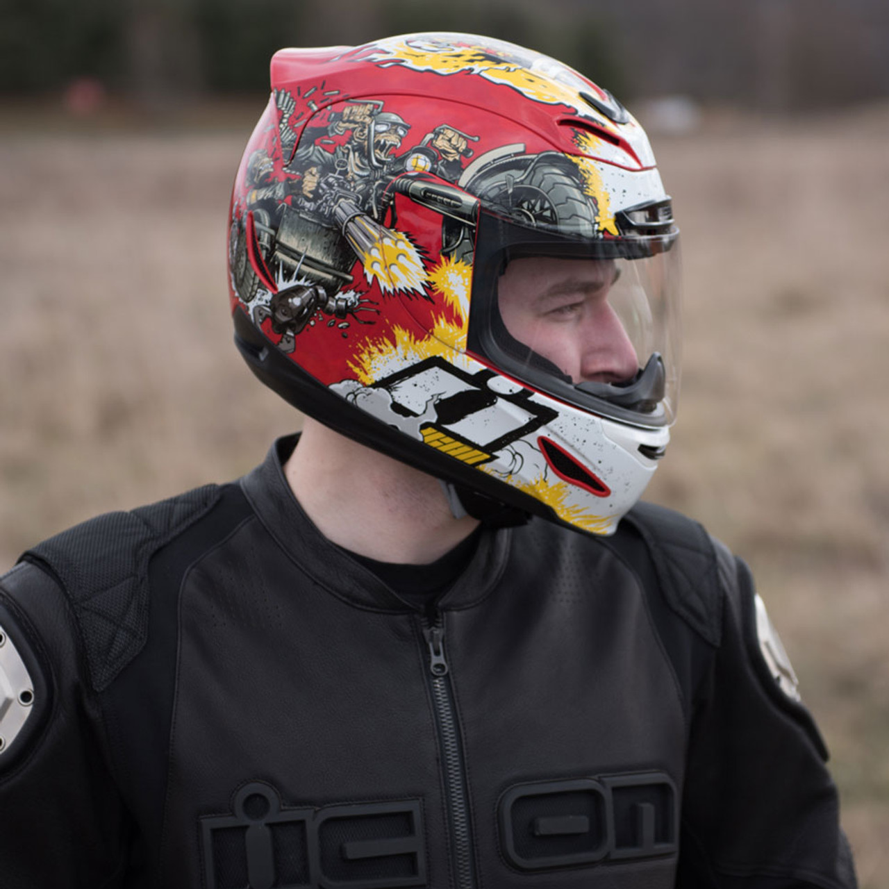 Icon Airmada Monkey Business Helmet - Lowered Cycles