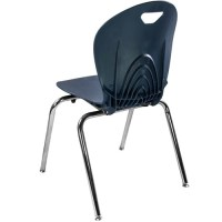 Advantage 18-in Navy Student Stack School Chair [ADV-TITAN ...