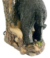 Majestic Black Bear Lamp