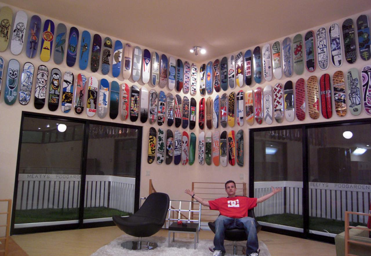 Sk8ology Deck Display