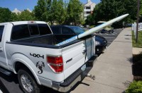 Surfboard & SUP Tailgate Rack