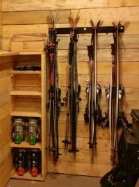 Ski and Snowboard Garage Storage - StoreYourBoard.com