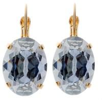 Earring - 18mm Oval Dangles - Victoria Lynn Jewelry