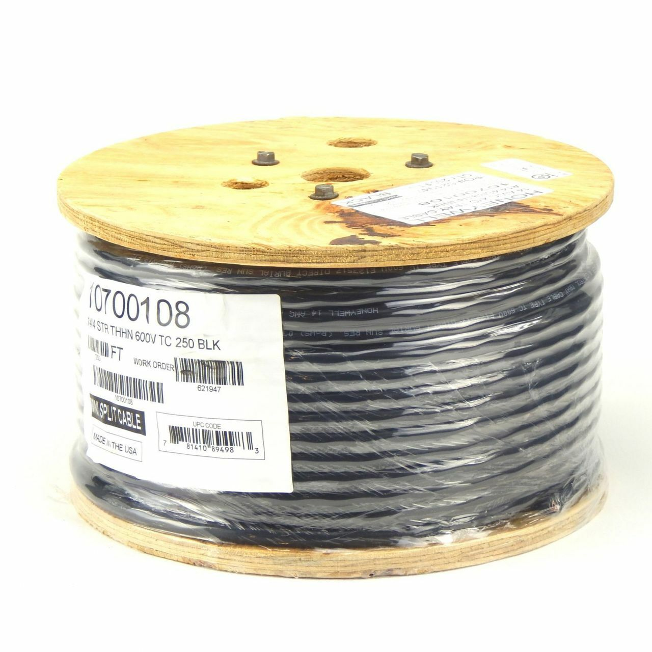 small resolution of  honeywell 10700108 250 foot roll 14 awg 4 conductor thhn mini split cable