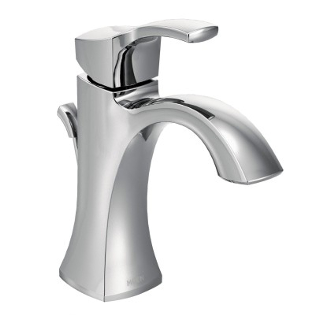 Moen Kingsley Bathroom Faucet Moen Voss One Handle High Arc Bathroom Faucet Chrome Finish