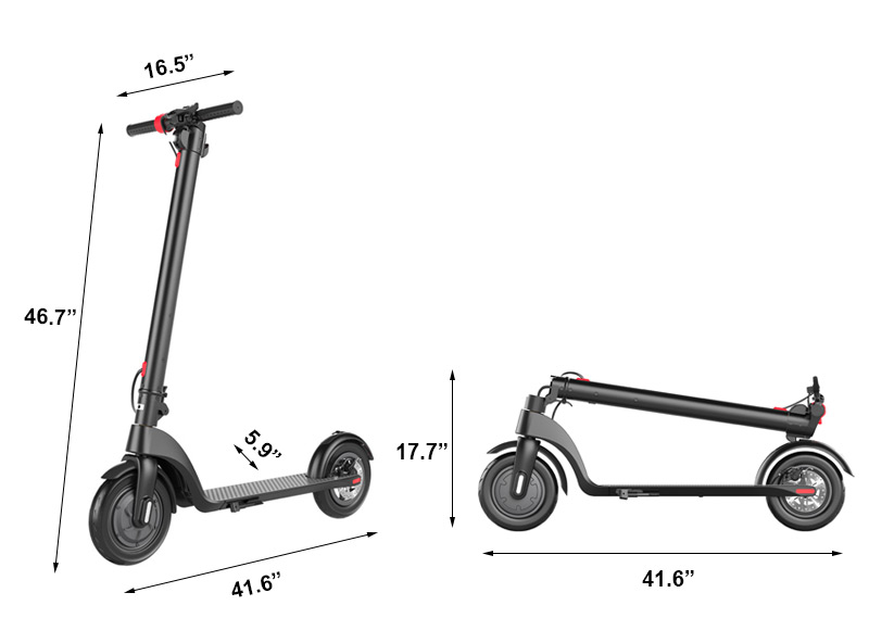 X7 Foldable Electric Scooter at discounted price for sale
